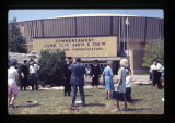 SIU Arena Commencement Sign