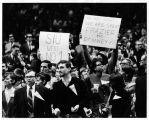 National Invitational Basketball Tournament Southern Illinois Crowd Signs 1967