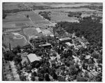 Southern Illinois University Campus Aerial Looking South Circa 1938-1950s