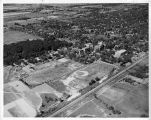Southern Illinois University Campus Aerial Looking West Circa 1938-1941