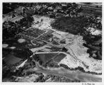 Southern Illinois University Campus Aerial Looking East 1957