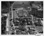 Southern Illinois University Campus Aerial Looking South 1957