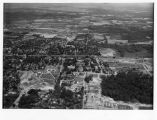 Southern Illinois University Campus Aerial Looking East 1954