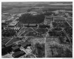 Southern Illinois University Campus Aerial Looking South 1959