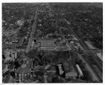 Southern Illinois University Quigley Hall Aerial Looking North 1959