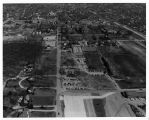 Southern Illinois University Campus Aerial Looking North 1959