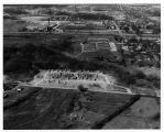 Southern Illinois University Temporary Buildings Aerial Looking West 1959