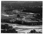 Southern Illinois University Campus Aerial Looking Northeast 1958