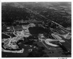 Southern Illinois University Campus Aerial Looking North 1957