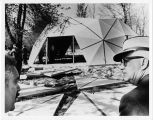 Buckminster Fuller Dome House Construction