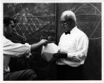 Buckminster Fuller Teaching with a Model