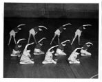 Group of Women in Modern Dance Pose