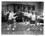 Eight Women Fencing, 1956