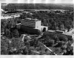 Aerial View of Morris Library and Lindegren Hall