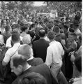 Crowd Around John F. Kennedy