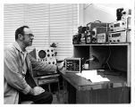 Ed Clayton at the Research Electronics Shop