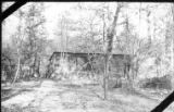 German shacks occupied by 2nd Battalion, 111th Infantry, Bois de Nonsard, October 29 to December...