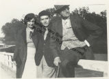 Claire Gorman, Herbert Gorman and James Joyce