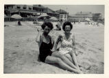 Caresse Crosby and Gretchen Powel at Virginia Beach