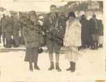 Mrs. Henrietta Crosby, Caresse and Harry Crosby in Switzerland