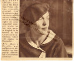 Caresse Crosby Newspaper Clipping