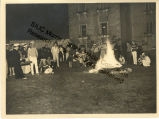 Group Around the Bon Fire in Ermenonville