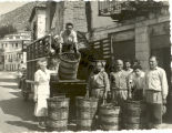 Caresse Crosby with Grape Unloaders in Delphi