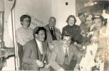 Caresse Crosby, George, Johnny, Merrit Swift, Constantine Nicoloudie at Party in Delphi