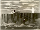"""The Temptation of St. Anthony"" Oil Painting by Horace Pippin"