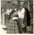 Caresse Crosby and Bill Barker in Florence in 1950