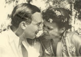 Newlyweds Katherine Dunham and John Pratt
