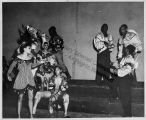 Katherine Dunham and Company Preparing for Performance