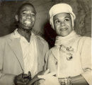 Katherine Dunham Arrives at Eagle Farm Airport with Vanoye Aikens