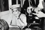 Katherine Dunham getting served a drink