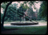 A Fountain on the Campus of SIU