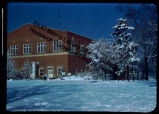 Gymnasium, Southern Illinois University, in Winter