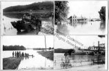 Collection of photographs taken during a flood.