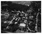 Aerial view of the Southern Illinois University Carbondale campus