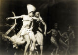 Cabin in the Sky: Katherine Dunham and other dancers with harp