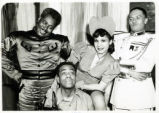 Cabin in the Sky: Katherine Dunham with uniformed characters