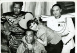 Cabin in the Sky: Katherine Dunham hugging man in overalls