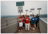 Educators for Simon at the Illinois State Line