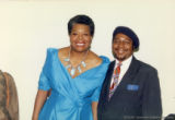 Maya Angelou and Eugene Redmond