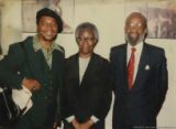 Eugene Redmond, Gwendolyn Brooks, and Lerone Bennett, Jr.