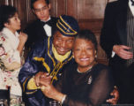 Eugene Redmond and Maya Angelou