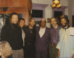 Quincy Troupe and five other men