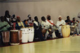 Line of drummers (1 of 2)