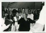 Toni Morrison with party group (2 of 3)