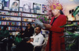 Tureeda Mikell reading her poetry