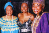 Coretta Scott King, Nancy Wilson, and Barbara McNair